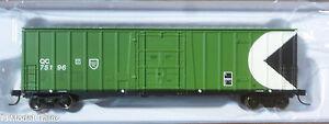 Atlas N #50002795 (Rd #75196) Quebec Central NSC 5111 50' Plug-Door Boxcar