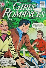 Girls Romance #57 DC Comic Silver Age 1958 VG+ Teen Love