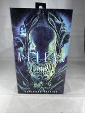 NECA Aliens Ultimate Edition Blue Alien Figure 2018~SEALED~NEW 40th Anniversary