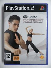 COMPLET jeu EYE TOY KINETIC COMBAT sur playstation 2 PS2 en francais juego gioco