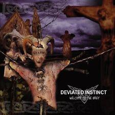 DEVIATED INSTINCT - Welcome To The Orgy CD  (Digi)