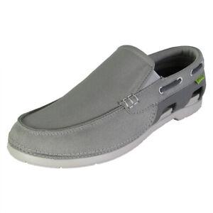 Crocs Mens Beach Line Slip On Boat Shoes