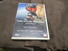 """DVD """"YANN ARTHUS-BERTRAND - PORTRAITS (ETRE PHOTOGRAPHE + LES PLUS BEAUX CHEVAUX"""