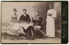 Photo Pascal Sebah Carte Album Albuminé Vers 1880/90
