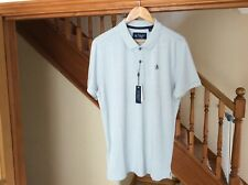 PENGUIN polo shirt Brand New with tags Pearl Blue Men's Medium