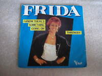 45 tours frida i know there's something going on