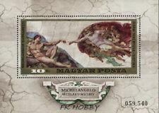 Hungary 1975 Mi BL 110 ** Painting Gemälde Peinture Michelangelo Buonarotti