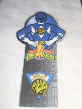 Power Rangers Book Bites Bookbites by Flair BLUE RANGER bookmark plastic LOOK!