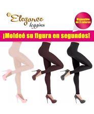 Leggings 360 Black Large Body Shaper Panty Medias Hot Pants Legings Slim Redu
