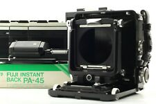 [EXC+5] Wista 45 SP 4x5 Large Format Field Camera 6X7 Film Back + Slider JAPAN