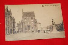 BELGIQUE  BRUGES PLACE JEAN VAN EYCK 1945 R670