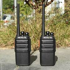 Neu Retevis RT24 PMR446 Funkgeräte Walkie Talkies 0.5W Zweiwegradio 2-Way Radio