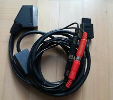 RGB SCART/EURO HQ CSYNC CLEAN SYNC Cable for modded NINTENDO 64 N64 SNES NTSC