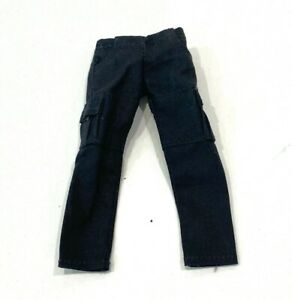 SU-CGS-BLK: 1/12 Slim Black Cargo Pants for Mezco Marvel Legends Slim Body