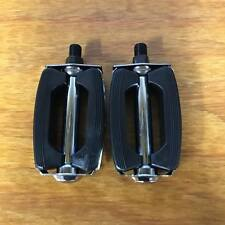 """BICYCLE BOW PEDALS FOR HUFFY SEARS AMF ROADMASTER SCHWINN BIKES 1/2"""" THREAD"""