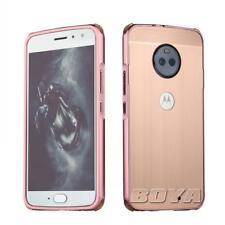 For Motorola Moto metal bumper phone case protective skin aluminum luxury