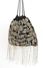 Sequin / Chain Drawstring Bag Shoulder Disco Party