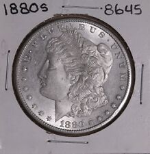 1880 S MORGAN SILVER DOLLAR 8645 EF
