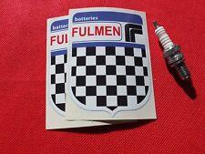 Pair of Fulmen batteries stickers