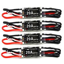 E26A 4x Littlebee Little Bee 20A 2-4s LiPo Battery OPTO ESC Brushless QAV250(GBP