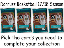 NBA Donruss Basketball 2017/18 Trading Cards Pick Choose what u need base rookie