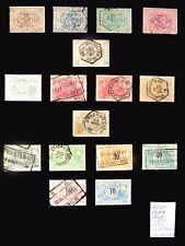 BELGIUM Railway Stamps As Described Cat £172 NB3164