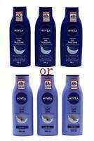 Nivea Nourishing Lotion Body Milk 400ml 3 Pack ( Pick From Soft Or Nutritiva )