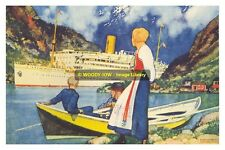 rp11796 - Royal Mail Liner - Atlantis - photo 6x4