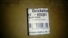 Quicksilver 87-855391 Relay Power Mercury Mercruiser Nuovo New