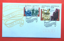 2000 Towards Federation set of stamps on FDC
