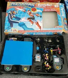 Mattel 2004 Megaman NT Warrior, Battle Net  Game, complete