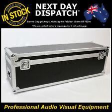 AV Microphone Mic PA Speaker Stand Packer Road Travel Flight Case Flightcase