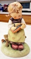 Goebel Hummel Figurine Busy Student West Germany #367 TMK5 The Last Bee Mark