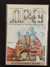 JOURNEY (ADVENTURES OF WOLVERINE MACALISTAIRE) #23 FANTAGRAPHIC BOOKS NM- 1985