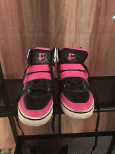 Vlado Knight Mid-Top Pink/Black/White Casual Shoes Size 7 Men's And 8.5 Ladies