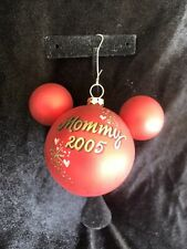 2005 Mommy Disney Mickey Mouse Christmas Ornament