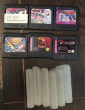 Sega Game Gear Lot X 5 Star Wars, Sonic, Mortal Kombat, Etc