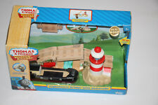 Thomas The Tank Engine Wooden Railway Lighthouse Bridge With Bulstrode NIB