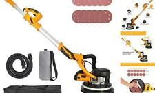 850w Drywall Sander With Vacuum Attachment Dust Collector Electric Pole