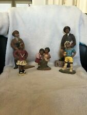 Sarah's Attic figurines Tuskegee Airman Wwii, Bessie Coleman, and children 1994
