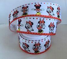 Yard Disney Minnie Mouse Moños De Cinta de Grogrén Chicas Personaje #314
