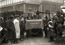 Photo Toulouse montreur d'ours cirque fête animation rue - tirage repro an. 1920