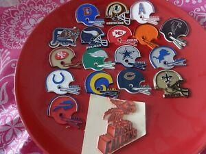 nfl magnets New Orleans Saints  helmet magnet vintage dated helmet one piece