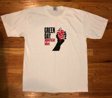 Green Day Rare American Idiot Promo Concert Shirt NYC show Billie Joe Armstrong