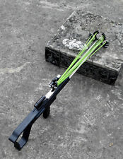 Hunting Catapult Rifle﹟ stainless steel trigger Driving force by Rubber Band DIY