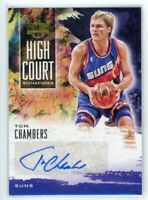 2019-20 TOM CHAMBERS 114/179 AUTO PANINI COURT KINGS AUTOGRAPHS HIGH COURT