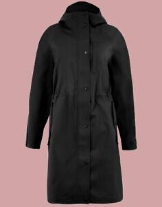Ex M*S Waterproof Parka in Black Size 14 (AR4.183)