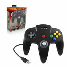 Retrolink Wired Nintendo 64 Style USB Controller For PC And Mac Black