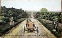 1906 Car/Auto Racing Postcard: French, 'Circuit de la Sarthe' #190