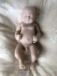 Baby Boy Doll Anatomically Correct Silicon Preemie Newborn